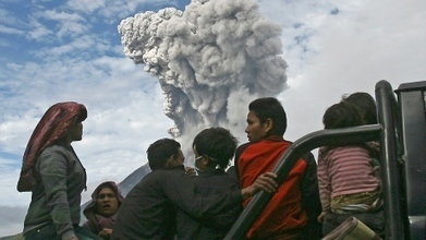 Indonesia's Mount Sinabung volcano erupts 6 more times | Als Return to Education | Scoop.it