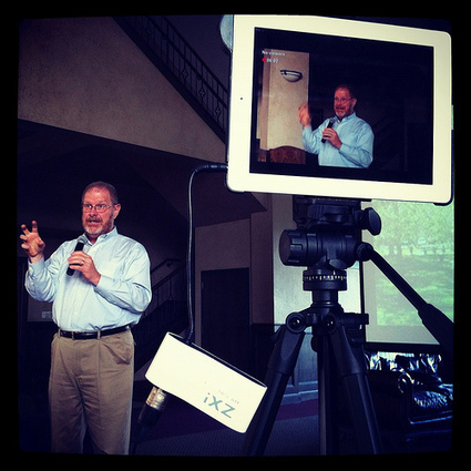 Moving at the Speed of Creativity - Webcasting with Ustream, an iPad, a Tripod & an XLR Boundary Microphone | Curtin iPad User Group | Scoop.it