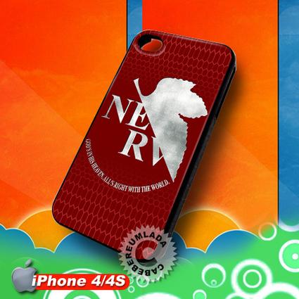 NERV Evangelion Logo iPhone 4 4S Case for sale | Customizable Smart Phone Cases | Scoop.it