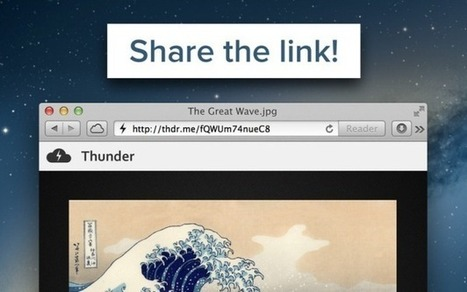 Share Any Type Of File From Mac Menu Bar With Thunder | Free PowerPoint Templates 1 | Scoop.it