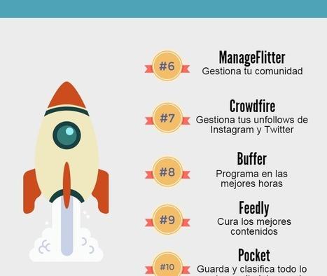 16 herramientas para despegar en Redes Sociales. #socialmedia | Universidad 3.0 | Scoop.it