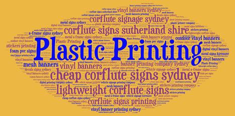 Digital Printing Company Shares an Image | Plastic Printing Pty Ltd | Scoop.it