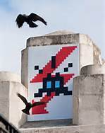 ARTWORKS BY INVADER | One Man's Personal Interest: An Exploration of Street Art and Propaganda | Scoop.it