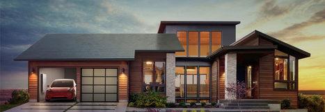Tesla et Solar City présentent des tuiles photovoltaïques révolutionnaires | Marketing Innovation | Scoop.it