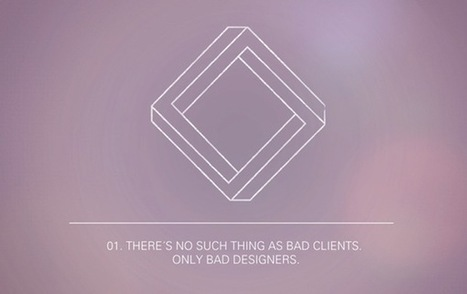 The 12 Paradoxes Of Graphic Design | Design Tips & Tricks | Scoop.it