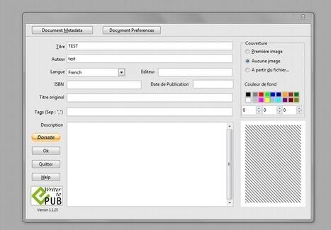 Convertir ses documents en ebooks avec Open Office | Herramientas Digitales para el profesorado | Scoop.it