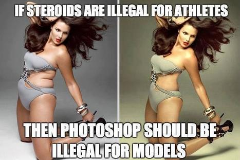 Illegalize Photoshop for Models | BBW Life | Scoop.it