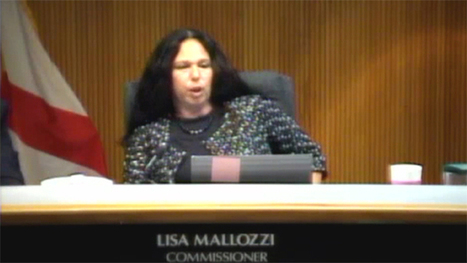 "VIDEO: Cooper City, Florida Commissioner Lisa Mallozzi to resident at City Hall meeting: ""Blow me"" 