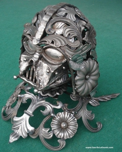 Darth Vader Metal Sculpture , Artist: Gavrilo Latinovic » Design You ... | Metal Art | Scoop.it