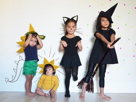 Костюм своими руками на хэллоуин детям