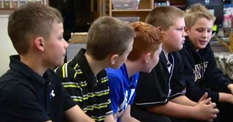 Five elementary kids are asked why 1 kid is being bullied… watch what the boy on the end reveals. | Character Education | Scoop.it