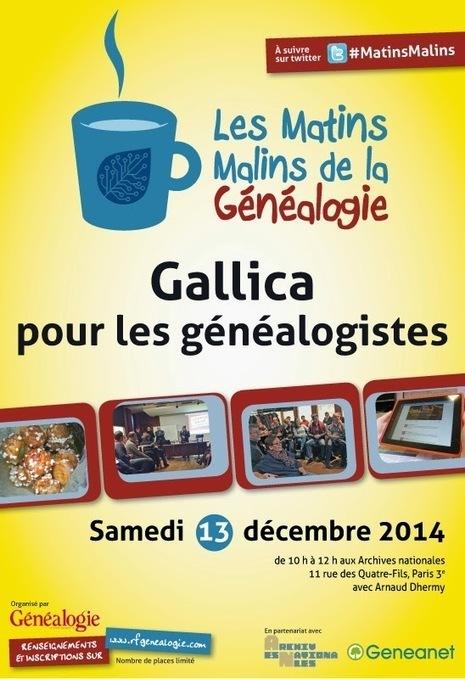 GeneaTech: Gallica pour les généalogistes : 5 conseils de recherche | Nos Racines | Scoop.it