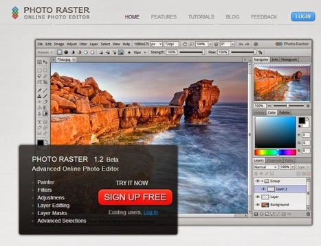4 editores de imágenes online que se parecen a Photoshop.- | Tools, Tech and education | Scoop.it