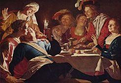 4 novembre 1590 à Utrecht naissance de Gerrit van Honthorst | Racines de l'Art | Scoop.it