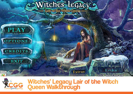 Witches' Legacy: Lair of the Witch Queen Walkthrough: From CasualGameGuides.com | Casual Game Walkthroughs | Scoop.it