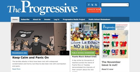 The Progressive Magazine: A School Crisis | digital divide information | Scoop.it