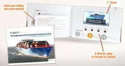 Video in Print Provides a Closer Look at World's Biggest Ship - Americhip Blog | Video in Print | Scoop.it