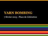 File ta[g] ville: Tournage France 3 pour Midi en France-Yarn bombing place de la Libération à Cahors_7 fév 13 | Yarn bombing _ File Ta[g] Ville | Scoop.it