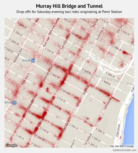 Analyzing 1.1 Billion NYC Taxi and Uber Trips, with a Vengeance | R for Journalists | Scoop.it