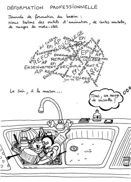 Prof-documentaliste : portrait en traits et en déliés - Les Cahiers pédagogiques | Portraits d'acteurs de l'éducation publiés dans les Cahiers Pédagogiques | Scoop.it