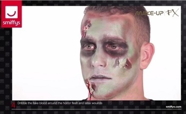 Tutoriel maquillage zombie pour Halloween | Communication et référencement | Scoop.it