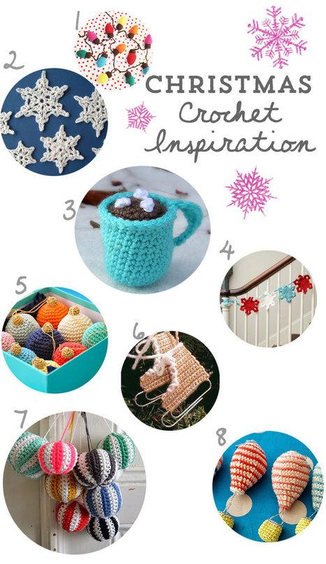 Christmas Crochet Inspiration | Couture, tricot et broderie - idées et envies | Scoop.it