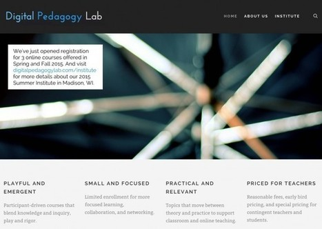 New Online Courses in Digital Pedagogy | Faculty Professional Development | Scoop.it