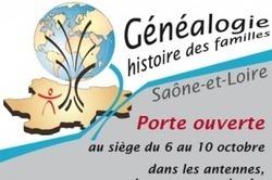 Généalogie : semaine de portes ouvertes en Saône-et-Loire | Rhit Genealogie | Scoop.it
