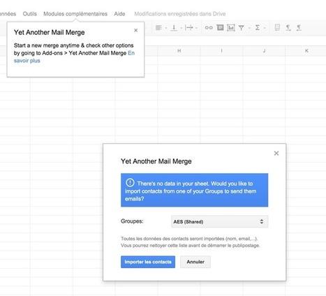 Yamm : le publipostage via Gmail. | Freewares | Scoop.it