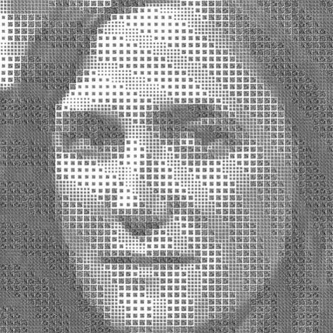 Hidden Creativity: QR Code Portrait Hides Double Meaning | WebUrbanist | VIM | Scoop.it