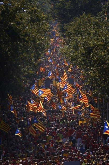 With Eye on Scotland, Catalonia Hails Its Secession Bid   El diseño de un nuevo estado de Europa   Scoop.it