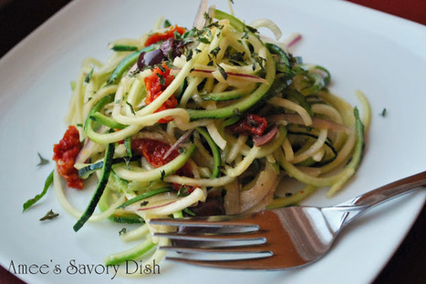 Amee's Savory Dish: Zucchini Salad | Heirloom Italian Seeds, Gardens and Cooking | Scoop.it