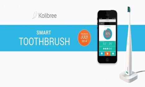 Kolibree: il primo spazzolino da denti connesso allo smartphone | Serious Games | Scoop.it