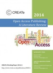 Open Access Publishing: A Literature Review | CREATe | Open is mightier | Scoop.it
