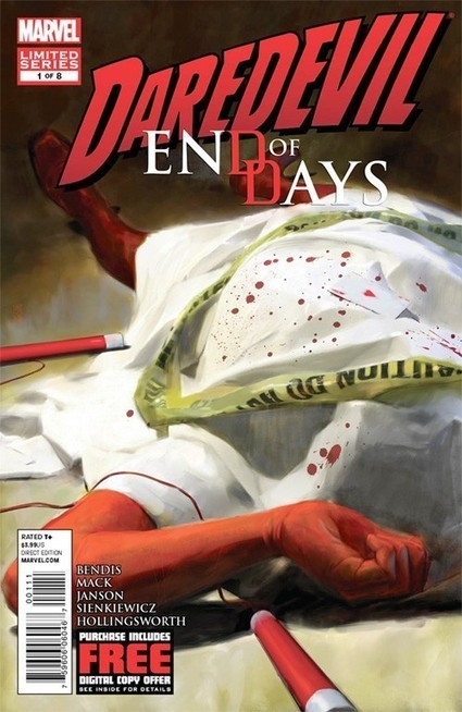 Matt Murdock Gets Punched... A Lot... In 'Daredevil: End Of Days' | Comic Books | Scoop.it