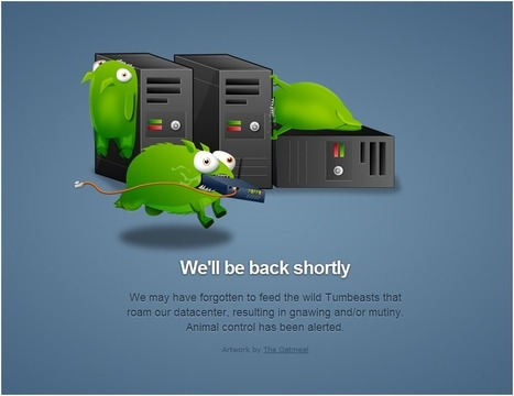 10 Clever Website Error Messages From Creative Companies | Design, social media and web resources | Scoop.it