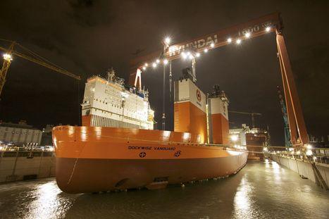 OCTOPUS-Onboard for World's Largest Heavy Cargo Ship Dockwise Vanguard | Maritime News | Maritime Executive Magazine | Transportation Management | Scoop.it