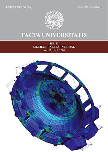 Facta Universitatis, Series: Mechanical Engineering   Facta Universitatis, Series: Mechanical Engineering   Scoop.it