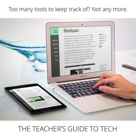 The Teacher's Guide to Tech Might Be Your New Best Friend | Education Technologies | Scoop.it | Scoop.it