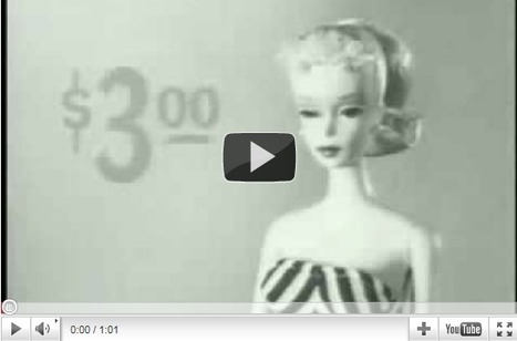 The First Barbie Commercial 1959 « HOW TO BE A RETRONAUT | GenealoNet | Scoop.it