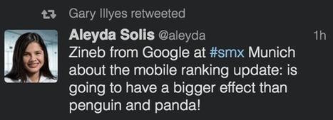 Google: The Mobile-Friendly Algorithm Will Be Larger Than Panda Or Penguin | Digital Marketing Lowdown | Scoop.it