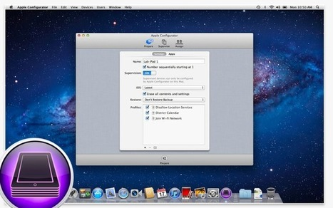 Preparing iPads for Lab Use with Apple Configurator | SD34 Mobile ... | iPad Integration | Scoop.it