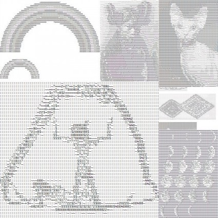 Ascii Art - Odds and Ends - Paper Whistle | ASCII Art | Scoop.it