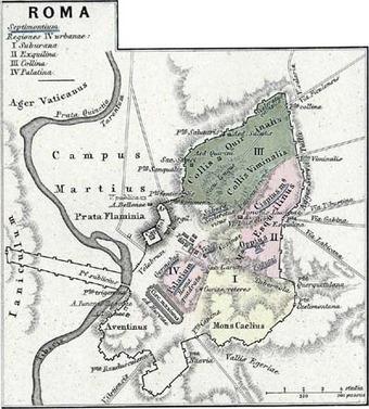 Cartes de la Rome antique | Histoire - Antiquité | Scoop.it