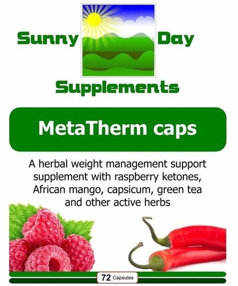 MetaTherm caps | Sunny Day Herbal Supplements, Buy Now & Jesus Saves | Scoop.it