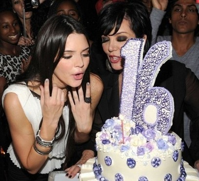 Celebrity for the World: Kendall Jenner: the center of attention for the show Kendell's Sweet 16. | Celebrity for the world | Scoop.it
