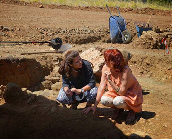 Unlooted Macedonian tomb discovered at Vergina | Monde antique | Scoop.it