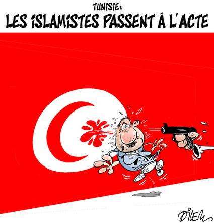 Caricature de «Dilem» sur la situation en Tunisie | Autres Vérités | Scoop.it