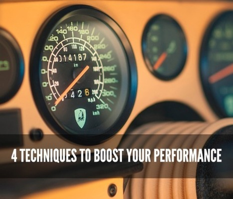 4 Techniques to Boost Your Performance   Student Competitions   Scoop.it