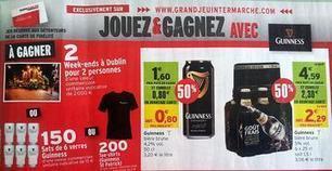 Spécial Saint-Patrick: Intermarché joue avec Guinness | Marketing et Stratégies des Vins et Spiritueux | Scoop.it